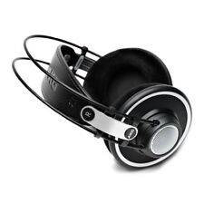 AKG K702 Open Back Over Ear Headphones Black - Manufacturer Refurbished With War
