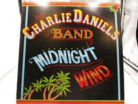 LP Record:  Charlie Daniels Band, Midnight Wind - 1977, Epic PE 34970  VG+ c VG+