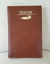 1985 CHUCK YEAGER signed autobiography leather book numbered 363/504 pilot