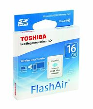 Sd Toshiba 16GB WiFi Flash Air C10