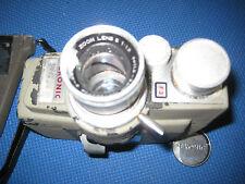 Sekonic 8mm Movie Film Camera Micro Eye Vintage with Pistol Grip, lanyard