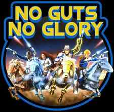 """80's Cartoon Classic Galaxy Rangers """"No Guts No Glory"""" custom tee Any Size"""