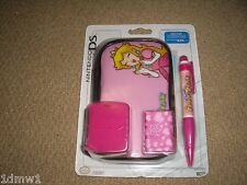 NINTENDO DS LITE OFFICIAL ACCESSORY PACK Princess Peaches Mario Pink BRAND NEW!