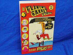 Renegade Flaming Carrot Comics #16 Bob Burden 1st Appearance Of The Mystery Men