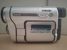SONY HANDYCAM DCR-TRV255E CAMCORDER DIGITAL 8 VIDEO CAMERA TAPE DIGITAL8
