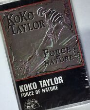 KOKO TAYLOR Force Of Nature Cassette NEW SEALED