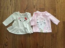 Gymboree Infant Girls Sweatshirts 2 Pieces Size 6 months