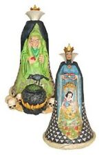 NIB JIM SHORE DISNEY TRADITIONS SNOW WHITE EVIL QUEEN OLD HAG WICKED FIGURINE
