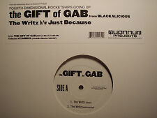 """GIFT OF GAB + VITAMIN D - THE WRITZ / JUST BECAUSE (12"""")  2003!!!  RARE!!!"""
