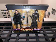 "Marvel Legends Avengers Infinity War Loki And Corvus Glaive 2 Pack 6"" Figures"