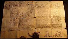 POPE URBANUS VIII BULLA with SEAL LEAD (Papstbulle Pergament und Siegel) - 1623