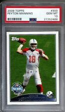 2009 Topps #300 Peyton Manning Colts graded PSA 10 Gem Mint