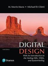 Digital Design by M. Morris R. Mano and Michael D. Ciletti (2017, Hardcover)