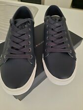New Tommy Hilfiger Men's M Winston Navy Blue Sneakers Shoes AUS 8 - RRP $170