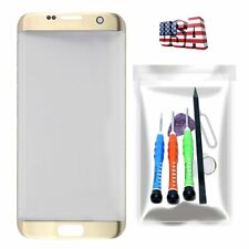 Gold Replacement Touch Glass Screen Repair Tools Kit For Samsung Galaxy S7 Edge