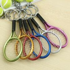 Sport Tennis Ball Racket Collectable Keyrings Keychain Decorations Christmas Gif