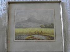 APIN MOCHTAR INI ADALAH LUKISAN PELUKIS IDONESIA Original Watercolour