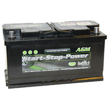 Intact Start - Stop AGM900 Premium Batterie de Véhicules Battterie 12V 90Ah Neuf