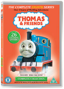 THOMAS AND FRIENDS SERIES 8 DVD [UK] NEW DVD
