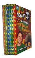 Deadly Animal Series 6 Fact Books Steve Backshall Kids Boy Girls In Wallet New