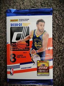 2020 2021 Panini Donruss Basketball NBA Sealed Cello Fat Pack 30 Trading Cards