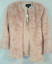 Metaphor Missy Pink Faux Fur Coat -Size M - NWT