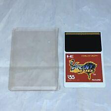 Violent Soldier Hu-Card JP GAME Hu Card ONLY Import NA Seller