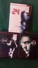 24~TV SERIES~SEASONS ONE TWO & THREE BOX SETS+ SPECIAL FEATURES BRAND NEW SEALED