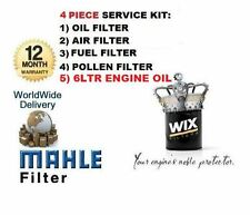 FOR Lexus IS220D 05-10 OIL AIR FUEL POLLEN FILTER SERVICE KIT + 6 LTR ENGINE OIL