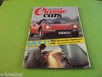 THOROUGHBRED AND CLASSIC CARS MAGAZINE MAY 1984#C4