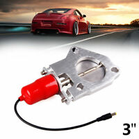3'' 76mm Electric Exhaust Muffler Valve Cutout Motor Kit Remote Control
