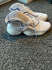 Adidas Crazy Byw Mens Trainers Uk 8 White Blue