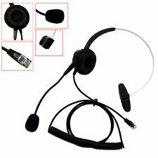 Telephone Headsets For SNOM Technology Spring TalkSwitch Phones Toshiba Ulytel