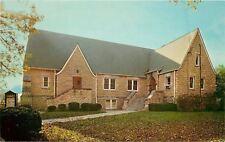 Louisville Kentucky~Bardstown Road Church of Christ Side View 1969 Postcard