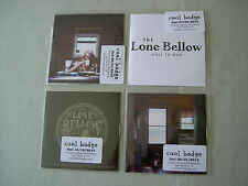 THE LONE BELLOW job lot of 4 promo CDs The One You Should've Let Go EP