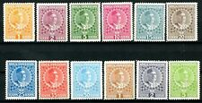 Montenegro Nicholas I Issues of 1913 Complete Set of 12 MH Scott's 99 to 110