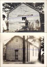 1920s McCracken School Country One-Room Schoolhouse Students Teacher Photos