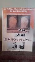 XV Festival Música De Catolico - Las Passions ALMA - 1986 - Opera