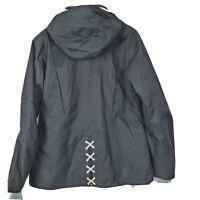 Obermeyer Womens Snow Ski Snowboard Winter Tara Jacket Black Luxury Sz 12 Worn1x