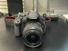 Canon EOS Rebel T3i 18.0MP Digital SLR Camera  (With EF-S 18-55mm Lens & Case)