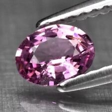 0.52ct 5.7x4.5mm Oval Natural Unheated Untreated Purplish Pink Sapphire Video #1