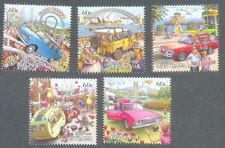 Australia-Road trip cars mnh set 2012