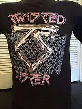 Rare Vtg 1984 Twisted Sister Hungry Tour Shirt Sz S Rock Heavy Glam Metal Dokken