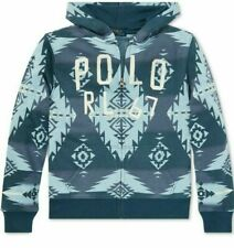Ralph Lauren Natives Southwestern Terry Hoodie Youth Size  XL(18-20)