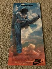 Vintage 1982 NIKE MILER FLEECE JACKET Poster Print Ad WARM UP PANTS SUIT 1980s