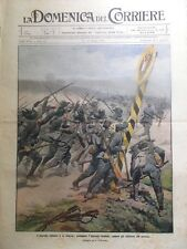 La Domenica del Corriere 13 Giugno 1915 WW1 Italia Guerra Austria Vienna Balilla