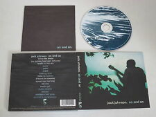 JACK JOHNSON / On and on (THE MOONSHINE Conspiracy 075 012 2) CD Album