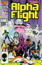 Alpha Flight # 33 (X-Men app, 1st Lady Deathstrike) (USA, 1986)