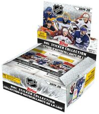 NHL Topps 2019-20 Hockey Sticker Collection Box [50 Packs]