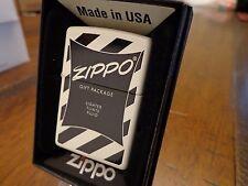 ZIPPO 1950'S GIFT SET BOX DESIGN SERIES ZIPPO LIGHTER MINT IN BOX